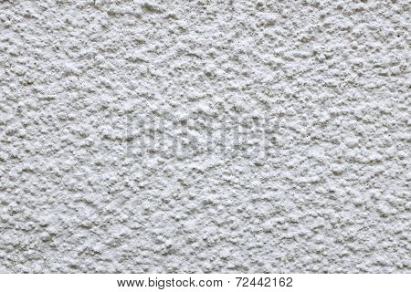 Rough Cement Render Painted White