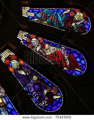 Saint Bartholomew, Saint James The Lesser And Saint Thadeus