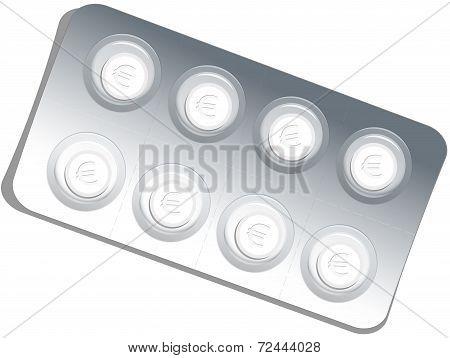 Medicine Blister Euro
