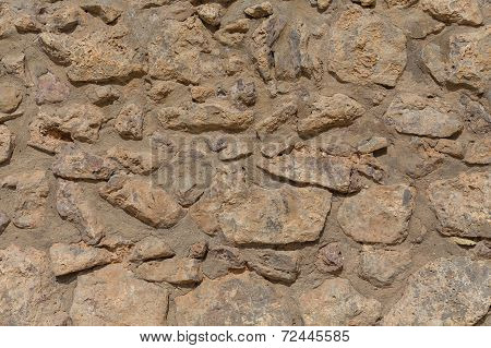 Stone Texture Of Old City Wall