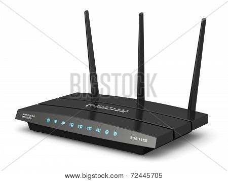 Wireless internet router