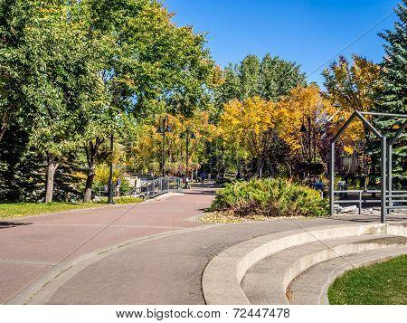 Calgary's pathway system