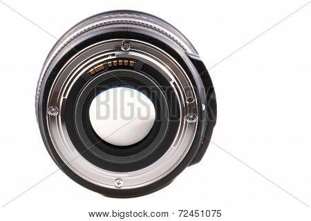 Camera Lense From Behind