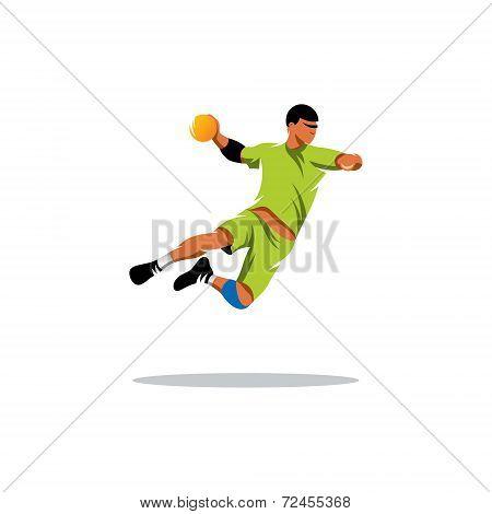 Handball Vector Sign