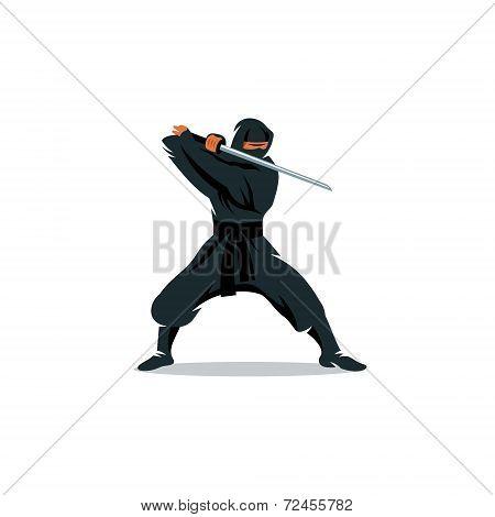 Ninja Vector Sign