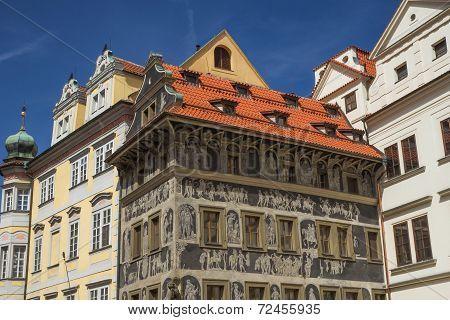 The Famous House At The Minute (prague, Czech Republic)