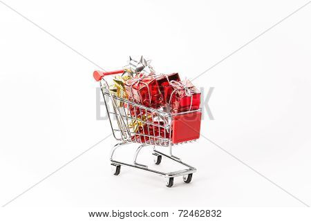 Caddy For Shopping With Gift