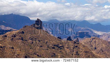 Volcanic Plug Roque Bentayga, Gran Canaria