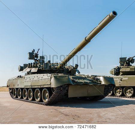 Russian tank T-72