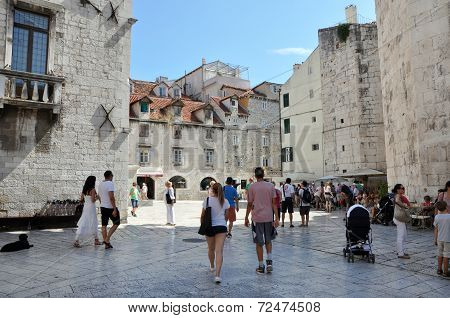 Old Town In Split, Croatia