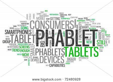 Word Cloud Phablet
