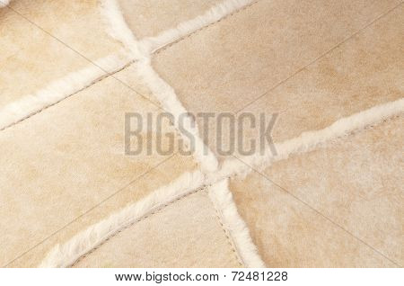 Beige brown tanning leather pattern