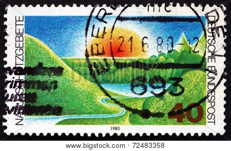 Postage Stamp Germany 1980 Nature Preserve