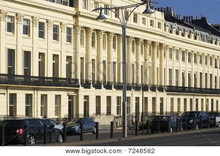 Apartment Building. Hove Seafront. East Sussex. England