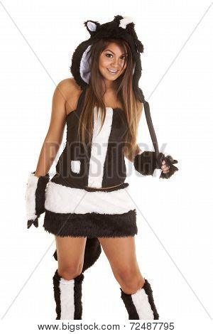 Woman Skunk Costume