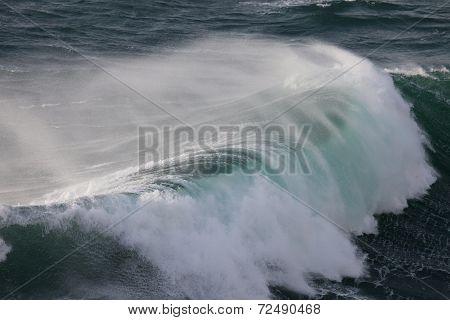 Mighty Waves of Atlantic Ocean