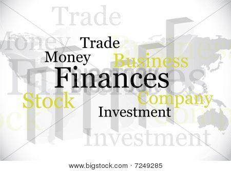 Abstract Finances Design