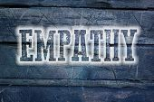foto of empathy  - Empathy Concept text on background humanism idea - JPG