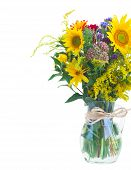 ������, ������: Vase of fall autumn flowers