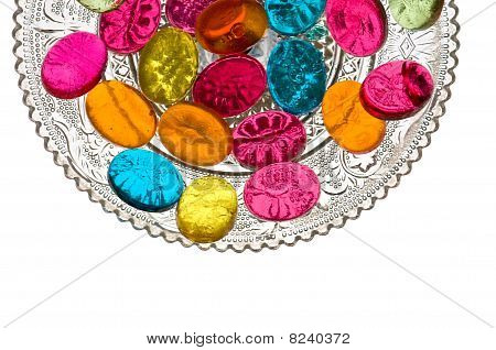 Sweets in Candy Dish