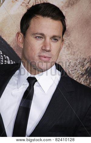 LOS ANGELES - FEB 2: Channing Tatum at the 'Jupiter Ascending' Los Angeles Premiere at TCL Chinese Theater on February 2, 2015 in Hollywood, Los Angeles, California