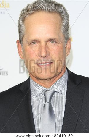 LOS ANGELES - JAN 8: Gregory Harrison at the TCA Winter 2015 Event For Hallmark Channel and Hallmark Movies & Mysteries at Tournament House on January 8, 2015 in Pasadena, CA