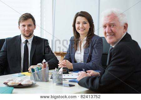 Three Businesspeople