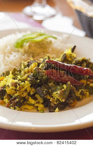 Indian Fried Okra