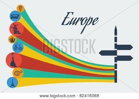 Vector europe safari.