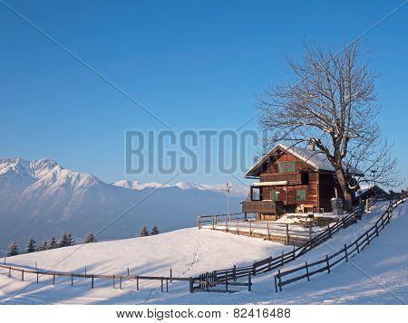 Hut in the Alps