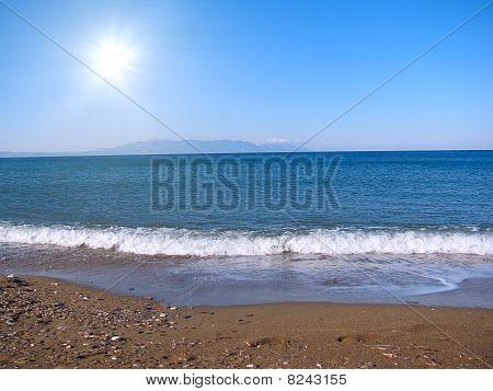 Sunny Day At Sea
