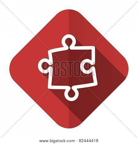 puzzle flat icon