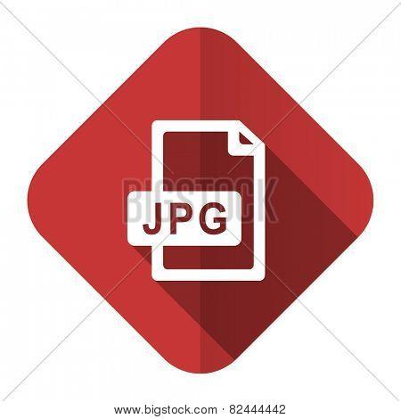jpg file flat icon