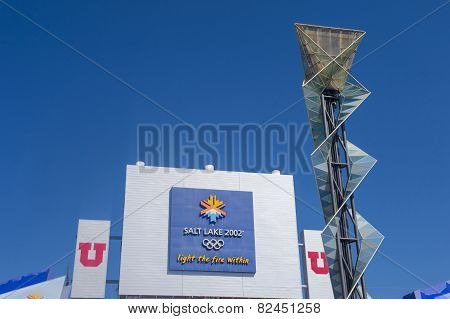 Salt Lake City Olympic Cauldron