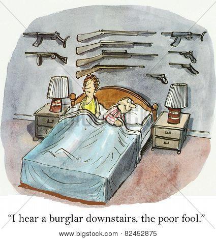 Burglar, Poor Fool