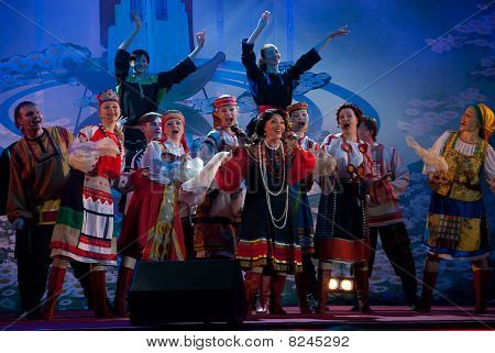 Nadezhda Babkina And Her Team