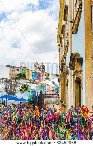 The historic centre of Salvador, Bahia, Brazil