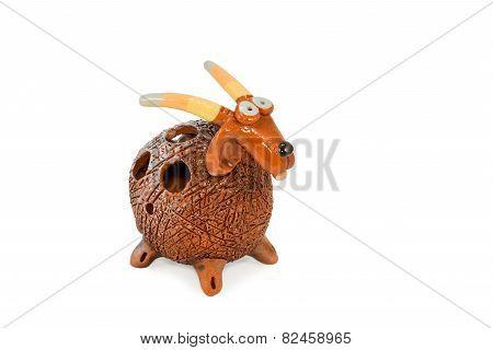 Decorative Ceramic Goat