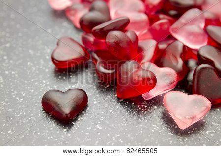 Heart Candy Wallpaper