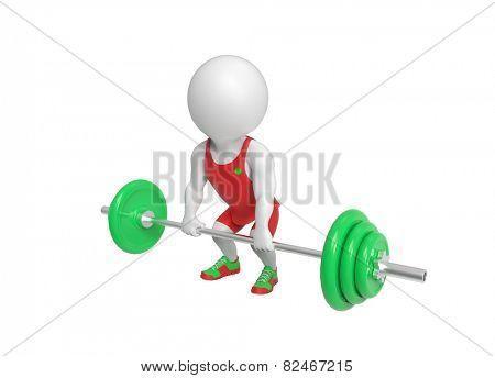 Little weight-lifter