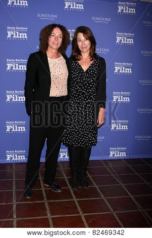 SANTA BARBARA - FEB 5:  Antionette Beumer, Marjolien Beumer at the Santa Barbara International Film Festival - American Riviera Award at a Arlington Theater on February 5, 2015 in Santa Barbara, CA