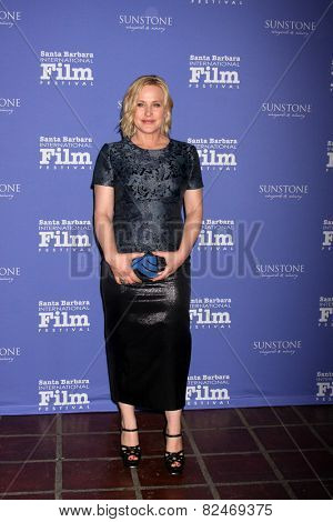 SANTA BARBARA - FEB 5:  Patricia Arquette at the Santa Barbara International Film Festival - American Riviera Award at a Arlington Theater on February 5, 2015 in Santa Barbara, CA