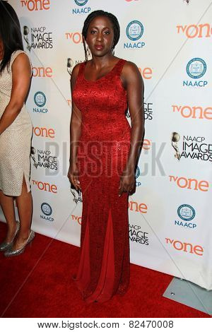 LOS ANGELES - FEB 5:  Peres Owino at the 46th NAACP Image Awards Non-Televised Ceremony  at a Pasadena Convention Center on February 5, 2015 in Pasadena, CA