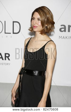 CAP D'ANTIBES - MAY 22: Sofia Coppola at the amfAR's 21st Cinema Against AIDS Gala at Hotel du Cap-Eden-Roc on May 22, 2014 in Cap d'Antibes, France
