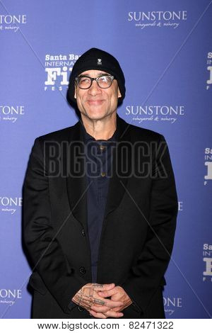 SANTA BARBARA - FEB 5:  Bruce Wagner at the Santa Barbara International Film Festival - American Riviera Award at a Arlington Theater on February 5, 2015 in Santa Barbara, CA