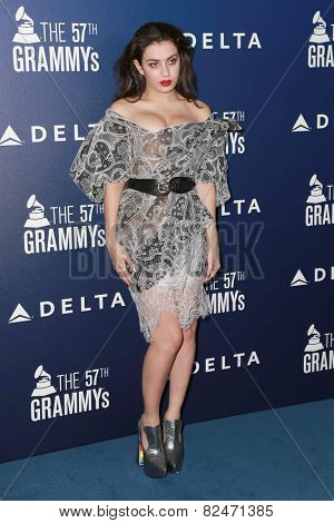 LOS ANGELES - FEB 5:  Charli XCX at the Delta Air Lines Toasts 2015 GRAMMYs at a SOHO House on February 5, 2015 in West Hollywood, CA