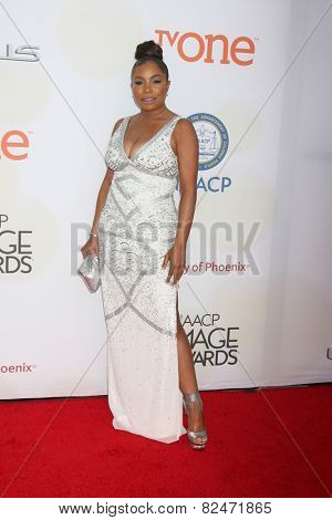 LOS ANGELES - FEB 6:  Paula Jai Parker at the 46th NAACP Image Awards Arrivals at a Pasadena Convention Center on February 6, 2015 in Pasadena, CA