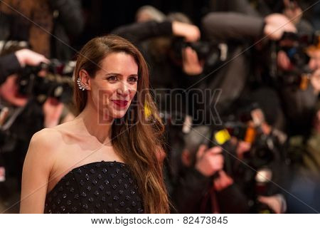 BERLIN, GERMANY - FEBRUARY 05: Julia Malik, Nobody Wants the Night premiere. Opening Ceremony. 65th Berlinale International Film Festival at Berlinale Palace on February 5, 2015 in Berlin, Germany.