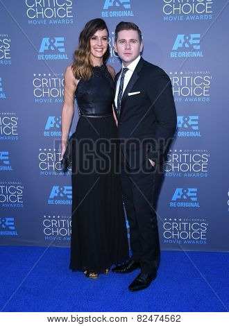 LOS ANGELES - JAN 16:  Allen Leech arrives to the Critics' Choice Awards 2015  on January 16, 2015 in Hollywood, CA