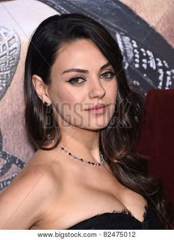 LOS ANGELES - FEB 02:  Mila Kunis arrives to the